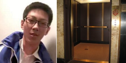 Schoolboy does homework while trapped in an elevator awaiting rescue - World Of Buzz 2