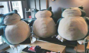 Singaporean Man Buys The Best Gift For Wife, GIGANTIC Snorlax Plushies! - World Of Buzz 1