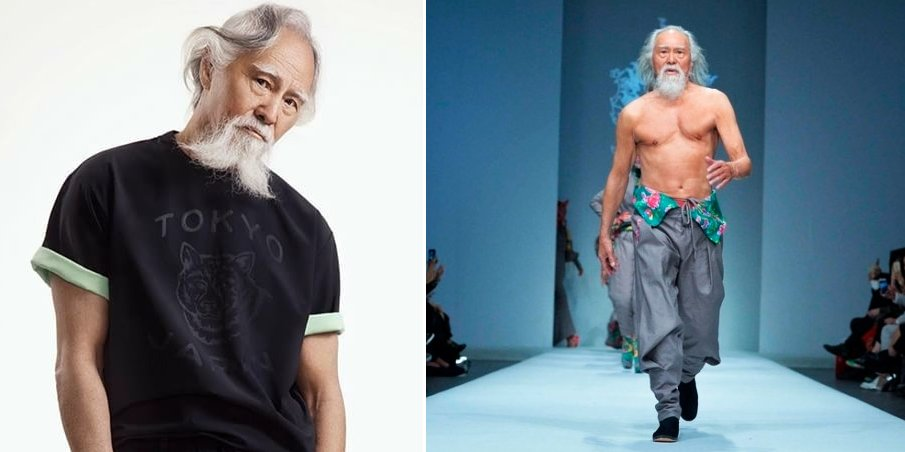 This 80 Year Old Man From China Is A Freaking Runway Model! - World Of Buzz 6