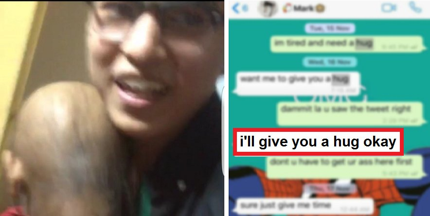 A Girl In S'pore Needed Hug, Best Friend Flew From Philippine To S'pore To Deliver It. - World Of Buzz 6