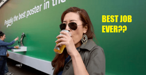 Best Job In The World: RM62,000 To Drink Carlsberg Beers For 4 Hours In Singapore - World Of Buzz 5