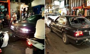BMW 7-Series And Toyota Altis Get Into A HUGE Fight On The Streets Of Taiwan. - World Of Buzz 7