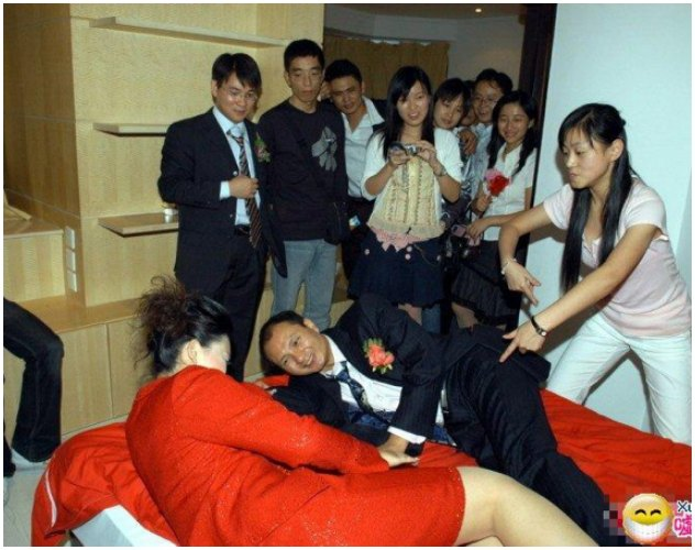 Bridesmaids In China Are Often Stripped and Molested In Chinese Weddings - World Of Buzz 2