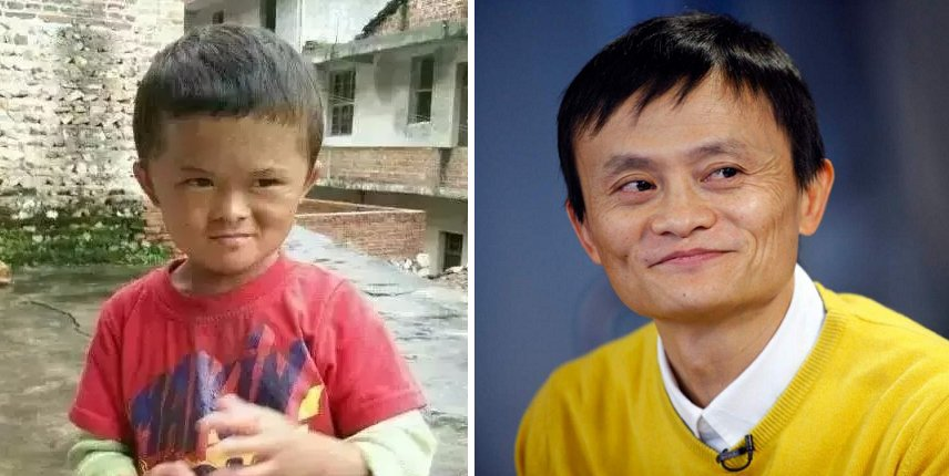 Chinese Billionaire Jack Ma Will Support His Viral 8-Year-Old Doppelganger. - World Of Buzz 6