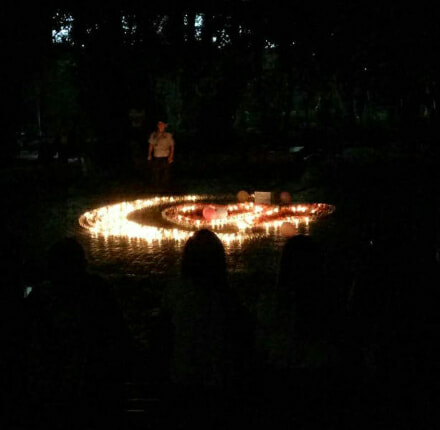 Chinese Guy Sets Up Candlelight Proposal, But Campus Security Came First - World Of Buzz 2