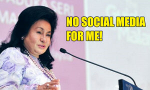 'I've Never Had A Facebook Account' Rosmah Says While Encouraging People To Use It Wisely - World Of Buzz 3