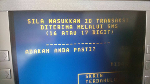 Malaysian Man Shares How You Can Withdraw Money At An ATM Without Card - World Of Buzz 4