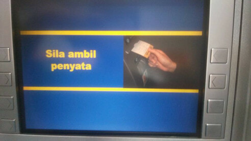 Malaysian Man Shares How You Can Withdraw Money At An ATM Without Card - World Of Buzz 6