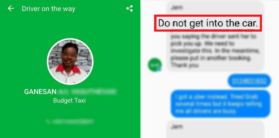 Man Warns Malaysians 'DO NOT Get Into The Car' When Dodgy GrabCar Driver Arrived - World Of Buzz 2