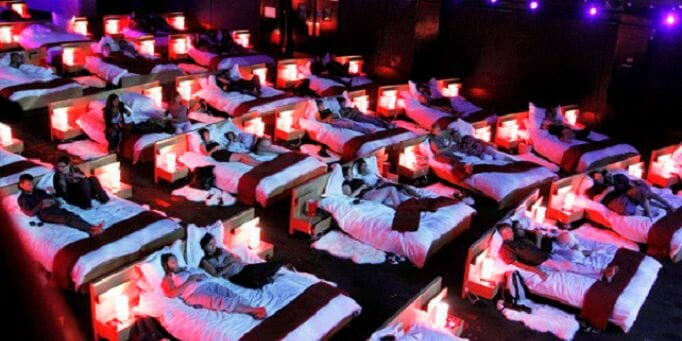 Most Comfortable Cinemas You Could Just Fall Asleep In - World Of Buzz 24