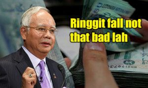 Najib: Fall In Malaysian Ringgit Not As Bad, Other Countries Have It Worse - World Of Buzz