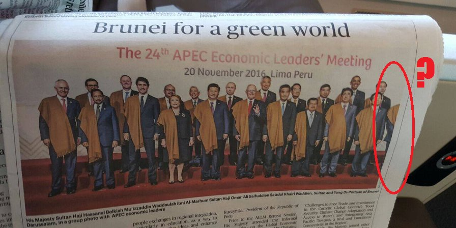 Najib Razak Cropped Out Of The Picture by Bruneian Paper - World Of Buzz 4