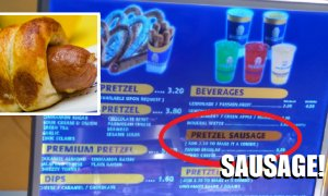 """Pretzel Dog"" Is Now Officially ""Pretzel Sausage"" - World Of Buzz 5"