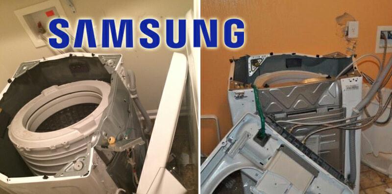 Samsung Recalls 2.8 Million Washing Machines Due To Explosions - World Of Buzz 6