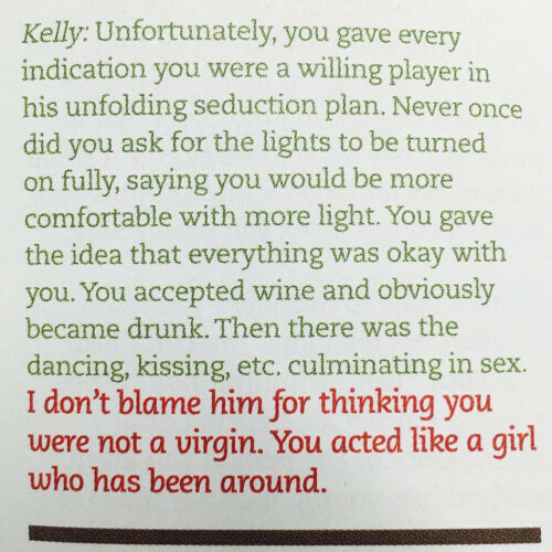 Singapore Magazine Tells Rape Victim To 'Be Grateful He Used A Condom' - World Of Buzz 3