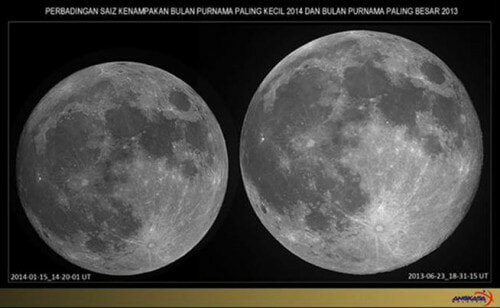 Supermoon Sighting From 7:24pm And Until 9:54pm On November 14 In Malaysia - World Of Buzz 1