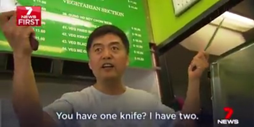 Teen Tries To Rob Restaurant With A Small Knife But The Chef Had Other Plans - World Of Buzz