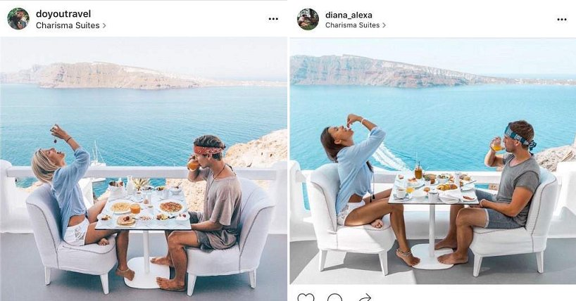 Travel Blogger Had Someone Creepily Recreating Exact Copies of Her Pictures - World Of Buzz