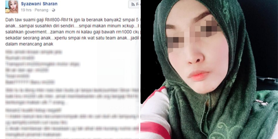Woman Suggests Malaysians Have Proper Family Planning, Gets Backlashed - World Of Buzz 2