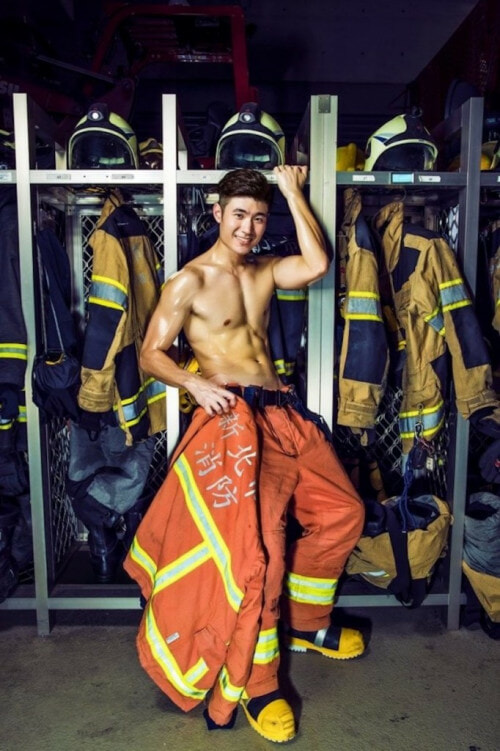 You Will Need Someone To Save You After Seeing This 2017 Calendar Featuring Sexy Firemen - World Of Buzz 2