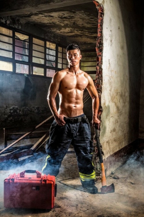 You Will Need Someone To Save You After Seeing This 2017 Calendar Featuring Sexy Firemen - World Of Buzz 5