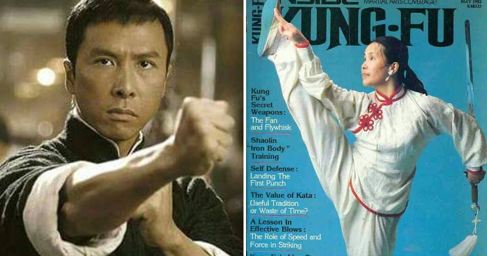 Actor And Martial Artist Donnie Yen's Kungfu Master Is His Own Mother? - World Of Buzz