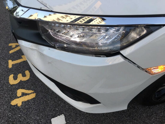 Angry Guy Reversed Into A Lady's Car In The Middle Of Road - World Of Buzz 5