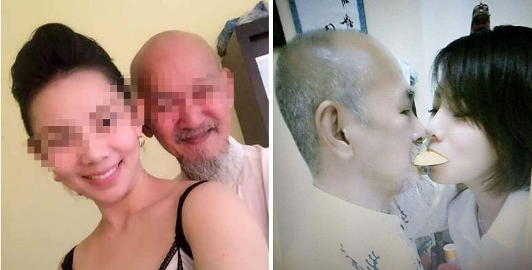 Chinese Girl Accused Of Seducing Rich Feng Shui Master For His Wealth, But She Claims Otherwise - World Of Buzz 19
