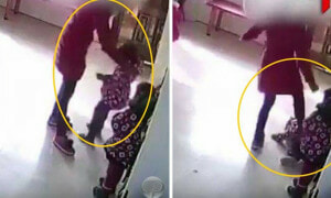 Chinese Teacher Brutally Hits Kindergarten Students For Failing To Dance Properly - World Of Buzz
