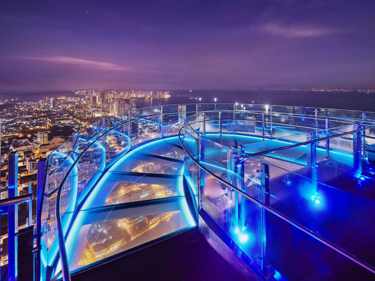 Experience Penang's New Rainbow Skywalk and Observatory Deck at KOMTAR - World Of Buzz 2