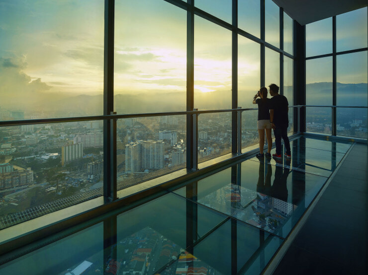 Experience Penang's New Rainbow Skywalk and Observatory Deck at KOMTAR - World Of Buzz 3