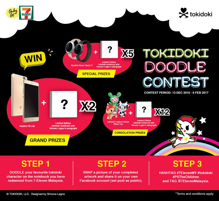 Iconic tokidoki Planner x Notebooks Are Now Redeemable For FREE In Malaysia's 7-Eleven - World Of Buzz