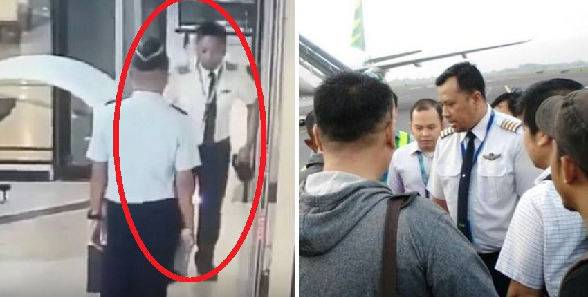 Indonesia Pilot Suspected to be Drunk Fired From Airline - World Of Buzz 5