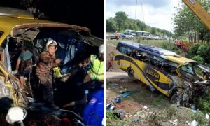 Johor Bus Driver only had 3 hour of sleep before accident. - World Of Buzz 2