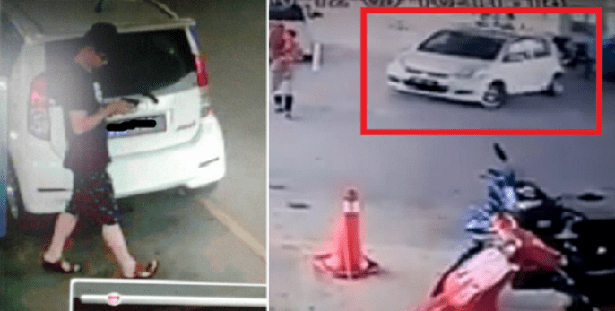 Malaysian Guy Takes Off After Leaving The Victim At Clinic - World Of Buzz 7