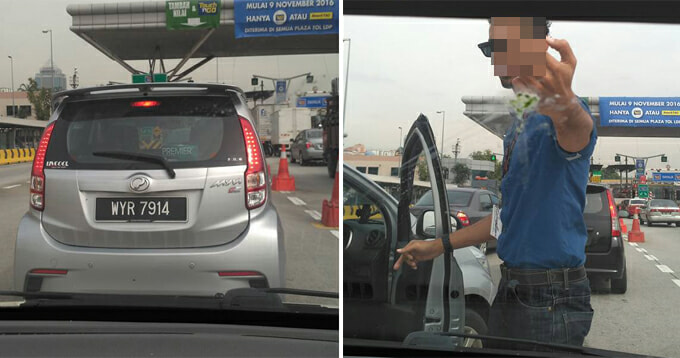 Malaysian Man Shows Middle Finger In Road Rage, Shares His Side Of The Story - World Of Buzz 5