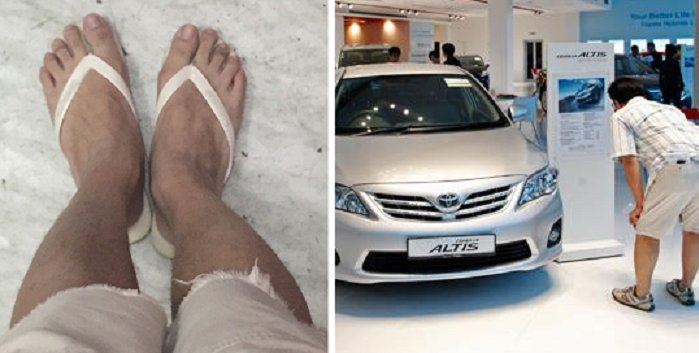 Malaysian Man Wears Singlet And Slippers To Car Showroom, Gets Denied Service - World Of Buzz
