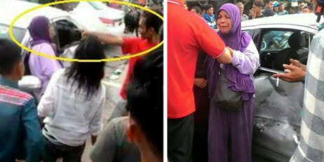 Malaysian Youngster Rudely Yelled And Pointed At Elder Lady After An Accident - World Of Buzz 11