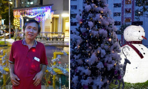 Man Turns a Little Corner of Singapore into a Winter Wonderland - World Of Buzz 7