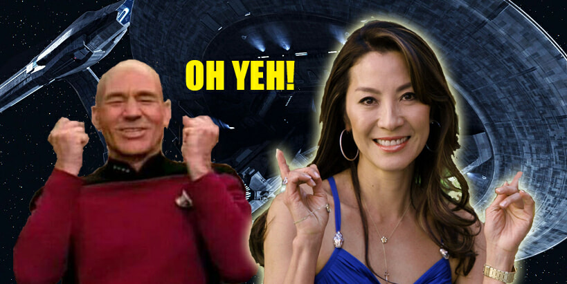 Michelle Yeoh To Become Starfleet Captain In Upcoming Star Trek Series - World Of Buzz