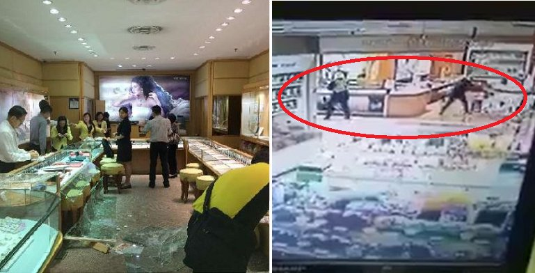 More than RM1 Million Gone in Jewelry Shop Heist in Taman OUG - World Of Buzz 5