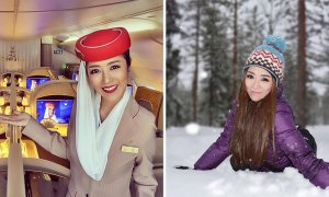 Netizens Exposed Famous Thai Air Hostess Photoshoping Herself To Gain Followers - World Of Buzz
