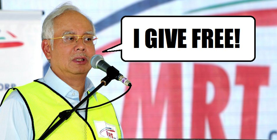 New MRT And Feeder Busses Will Be Free Until 17th January, Says Najib - World Of Buzz 5