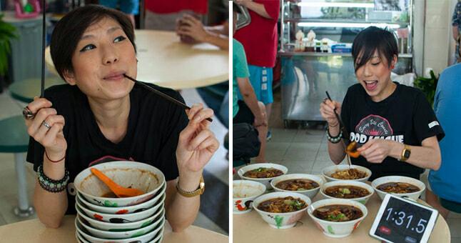 Petite S'porean Flight Attendant Devours Eight Bowls Of Soup Noodles In One Go - World Of Buzz 7