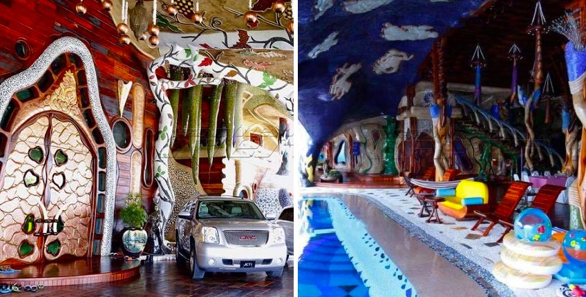 Pictures Of Johor Sultan's 'Flintstone House' Going Viral, Netizens Wowed By The Architecture - World Of Buzz 4