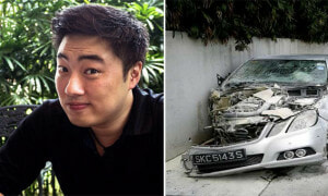 S'porean Actor Killed In Head-on Collision With A Mercedes Driven By Mentally Unstable Man - World Of Buzz 10