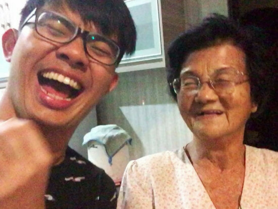Video Of Malaysian Grandson Bullied Grandma In A Loving Way Going Viral - World Of Buzz