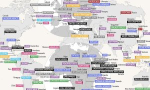 World Map Reveals What Countries Are Famous For, Malaysia Known For Rubber - World Of Buzz 12