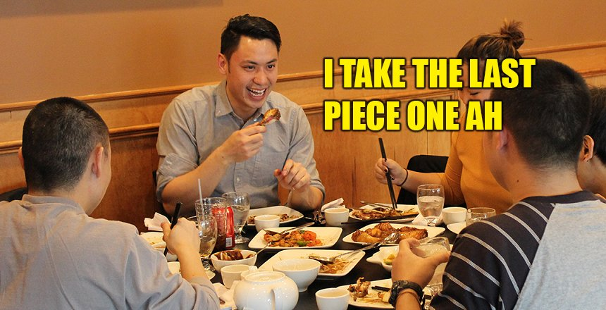 10 Common Types Of Malaysians When Eating - World Of Buzz