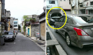 2 Stubborn Malaysians Refused To Give Way, Both Stuck In Narrow Back Alley For 2 Hours - World Of Buzz 6